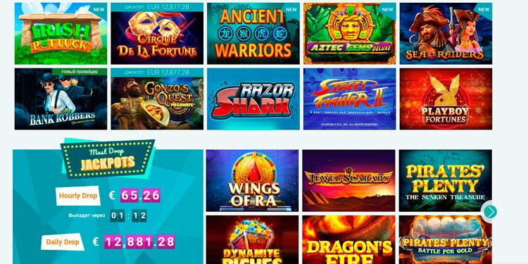 игры в казино Эплей